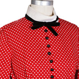Vintage Polka Dot Baby Doll Dress