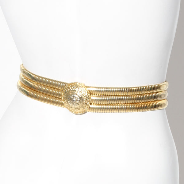Judith Leiber Metal Belt