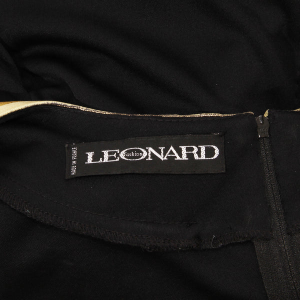Leonard Jersey Gathered Dress