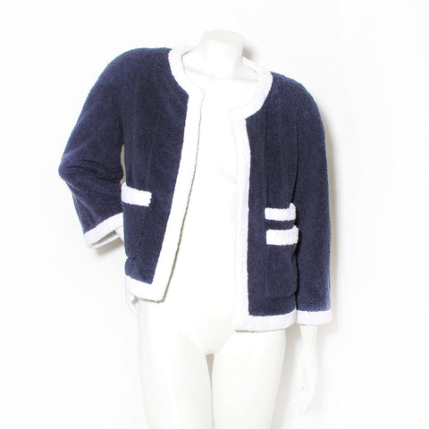 Chanel Terrycloth Jacket