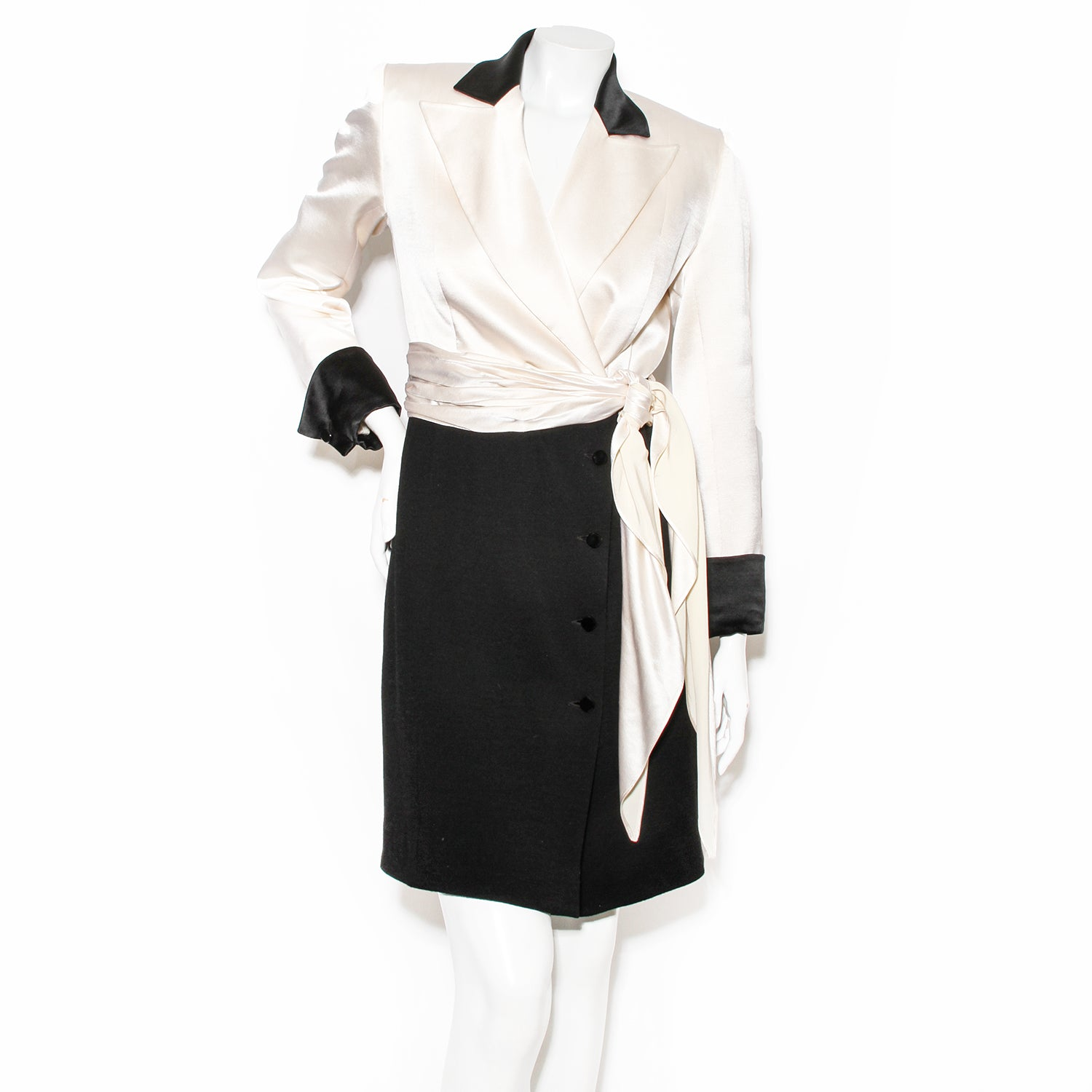 Jean-Louis Scherrer Coat Dress
