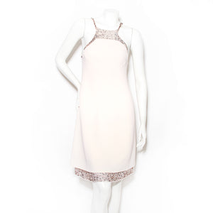 Ralph Rucci Shift Chiffon Dress