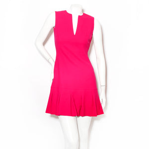 McQueen Pleat Mini Dress