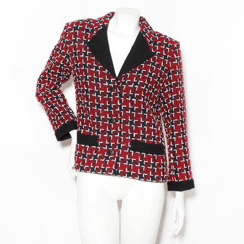 Chanel Large Houndstooth Jacket