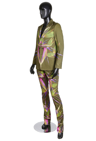 Birds of Paradise Suit by Ricardo Tisci, Spring 2012