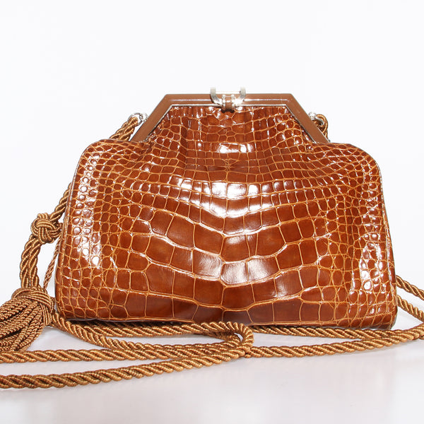 Fendi Crocodile Handbag