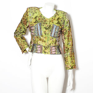 Lacroix Lace Cropped Jacket