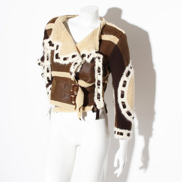 Dior Shearling Patch Jacket