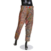 Patchwork Embroidered and Mirrored Pants, Spring 2011