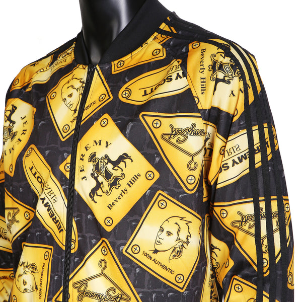 Gold Plaque Print Track Suit