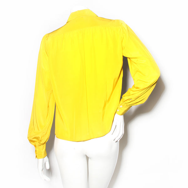 YSL Point Collar Blouse