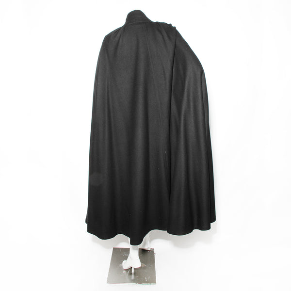 Chloe Wool Twill Cape