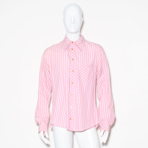 Vivienne Westwood White Stripe Button Down