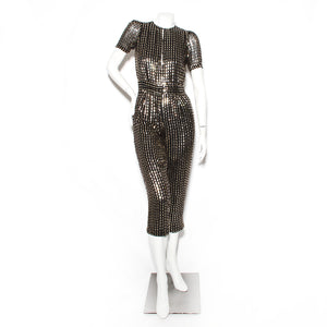 Temperley Square Sequin Jumpsuit