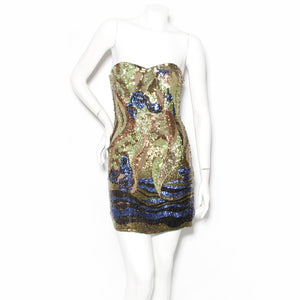Sherri Hill Sequin Mini Dress