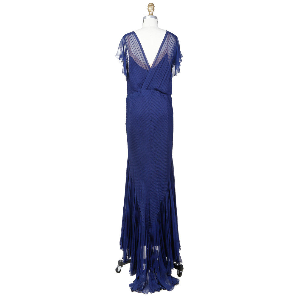 Vintage Chiffon Gown with Slip