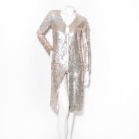 Temperley Sequin Coat