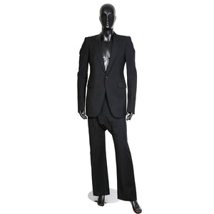 Black Wool and Mohair Suit