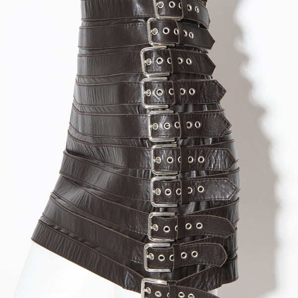 Dolce and Gabbana Belt Detail Skirt