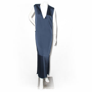 Margiela Zipper Satin Dress