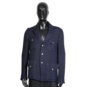 Blue and Black Tweed Jacket, 2006 Cruise Collection
