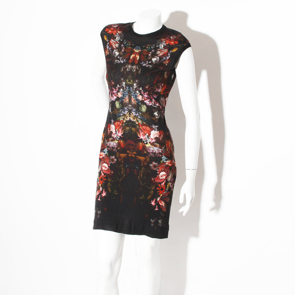 McQueen Floral Dress