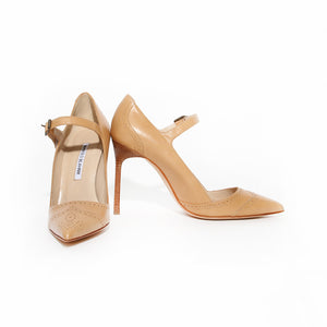 Manolo Pointed Mary Jane