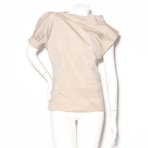 YSL Asymmetrical Safari Blouse