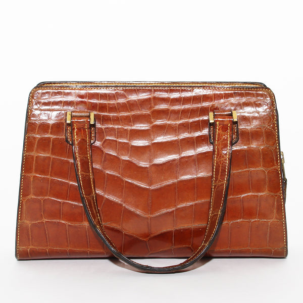 Hermes Vintage Crocodile Mini Doctor Bag
