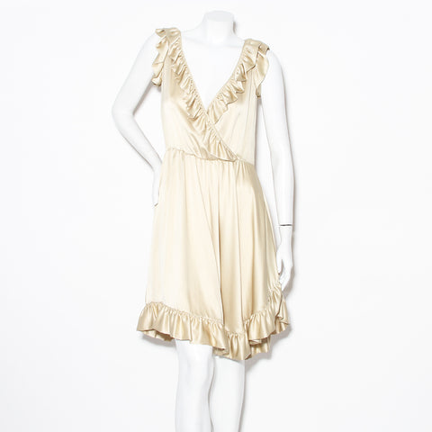 Alexander McQueen Ruffle Dress