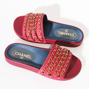 Chanel Chain Sandal