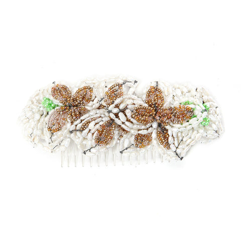 Artisinal Beaded Hairpiece