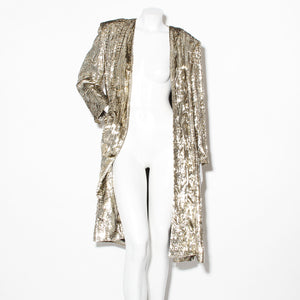 Christian Dior Long Lurex Jacket