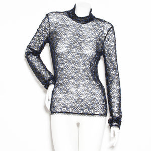 Chanel Lace Blouse