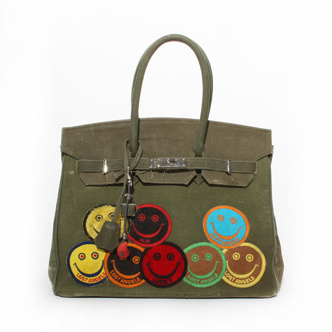 READYMADE Vintage Canvas Travel Bag