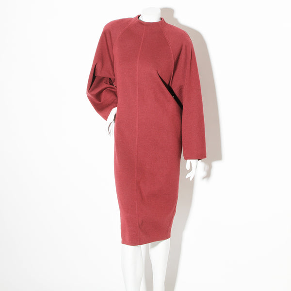 Alaia Vintage Knit Long Sleeve Dress