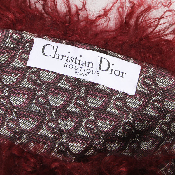 Vintage Dior Double-Sided Monogram Scarf