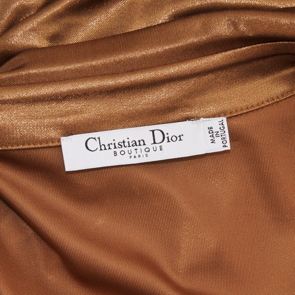 Dior Bronze Snap Down
