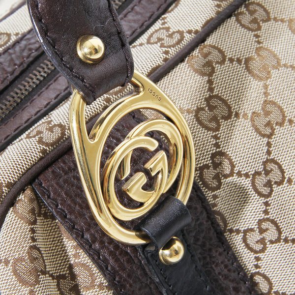Gucci GG Monogram Canvas Bag