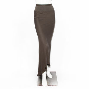 Rick Owens Naska Bias Cut Long Skirt