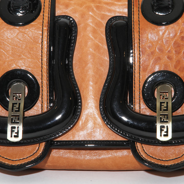 Fendi Leather Buckle Bag