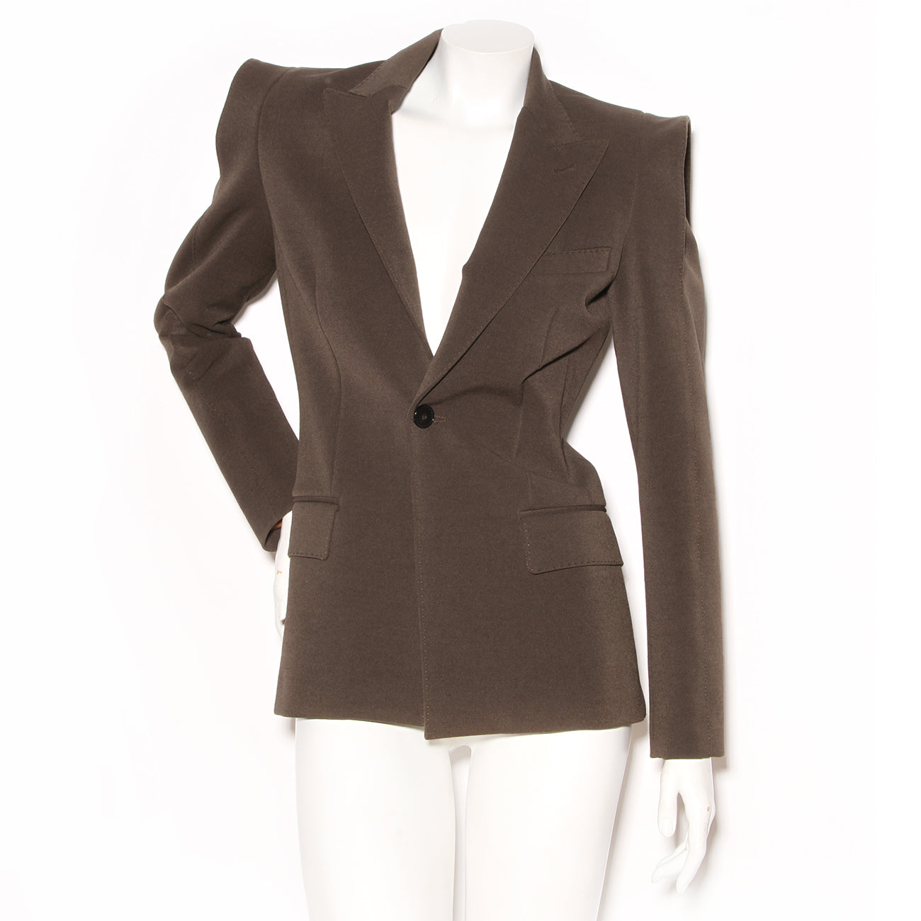 Jean Paul Gaultier Blazer with Structural Shoulder