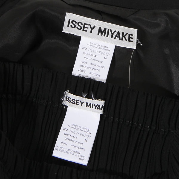 Issey Miyake Two Piece Pleated Set