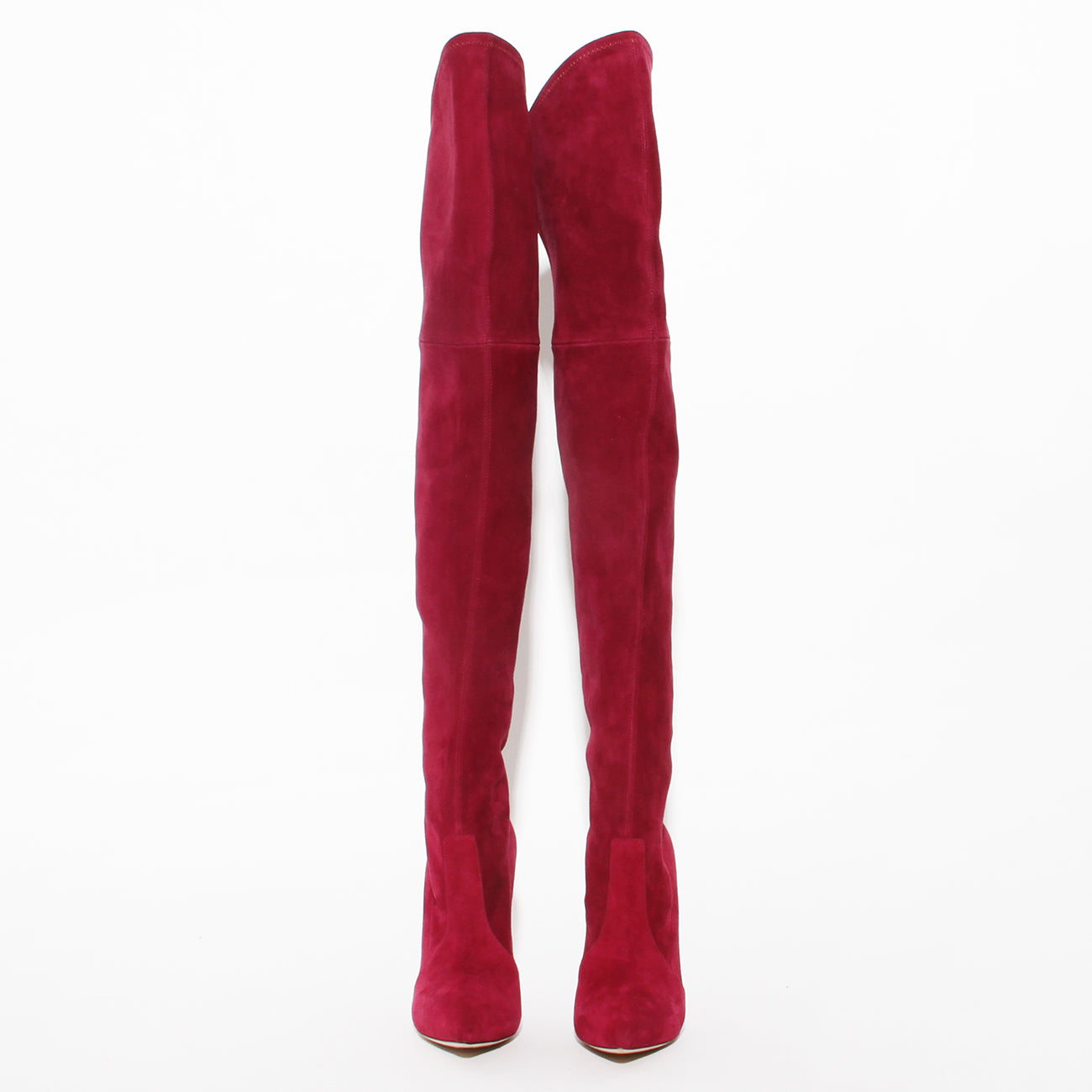 Casadei Suede Thigh High Boot