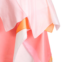 Layered Silk Dress in Peach Tones by Raf Simons, Spring 2008