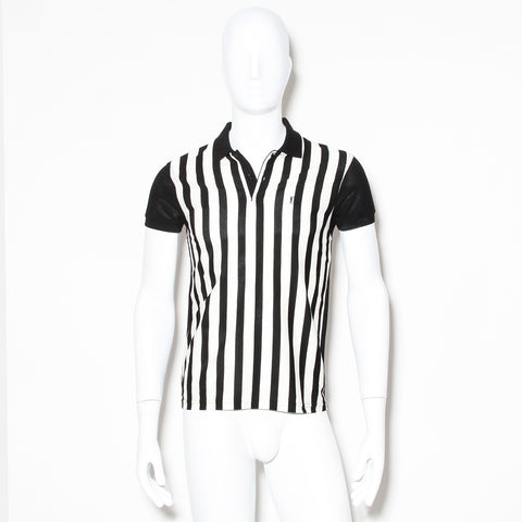 Saint Laurent Vertical Stripe Polo