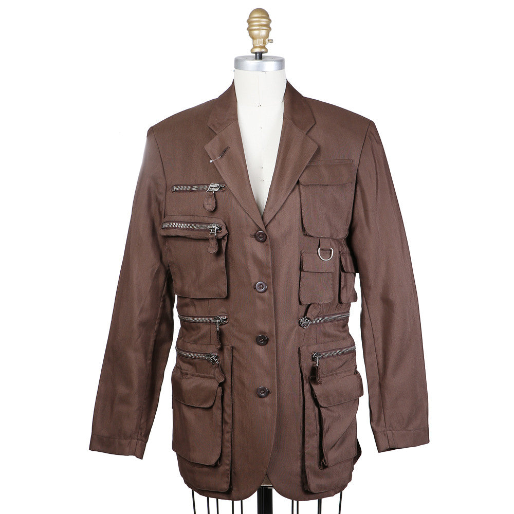 Brown Military Jacket