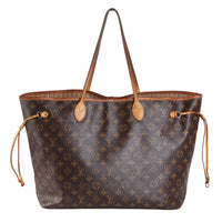 Large Monogram Leather Tote