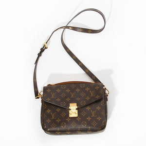 Louis Vuitton Pochette Metis Monogram Handbag