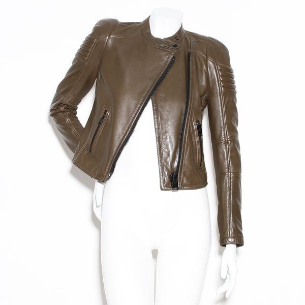 Tom Ford Leather Zip Jacket